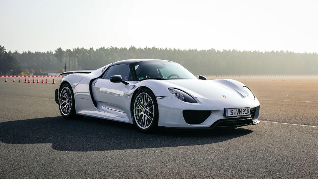 Porsche más rápidos: 918 Spyder