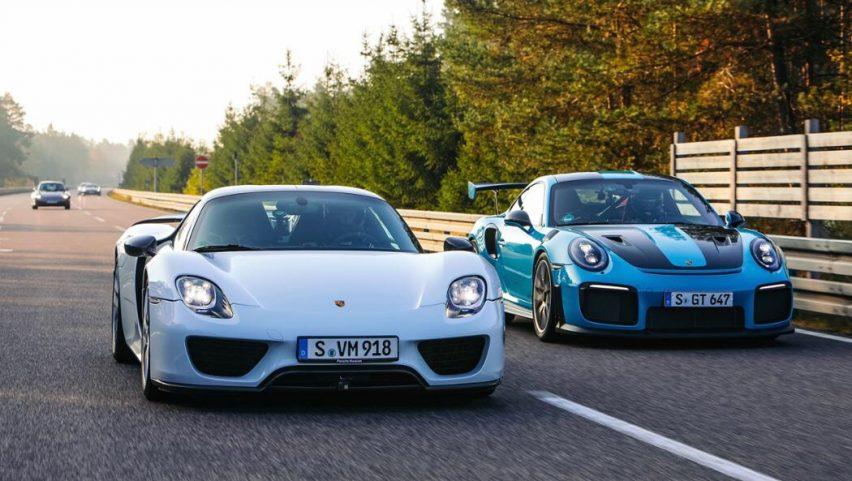 Los Porsche más rápidos; velocidad y lujo