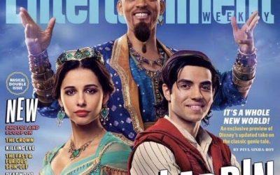 Estás son las primeras fotografias en set de Aladdin Live Action