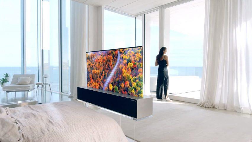LG presenta la primer pantalla enrollable del mundo