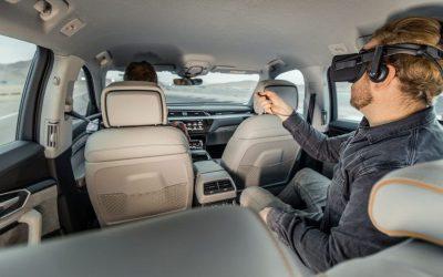 Audi e-tron lleva más lejos el concepto de entretenimiento a bordo