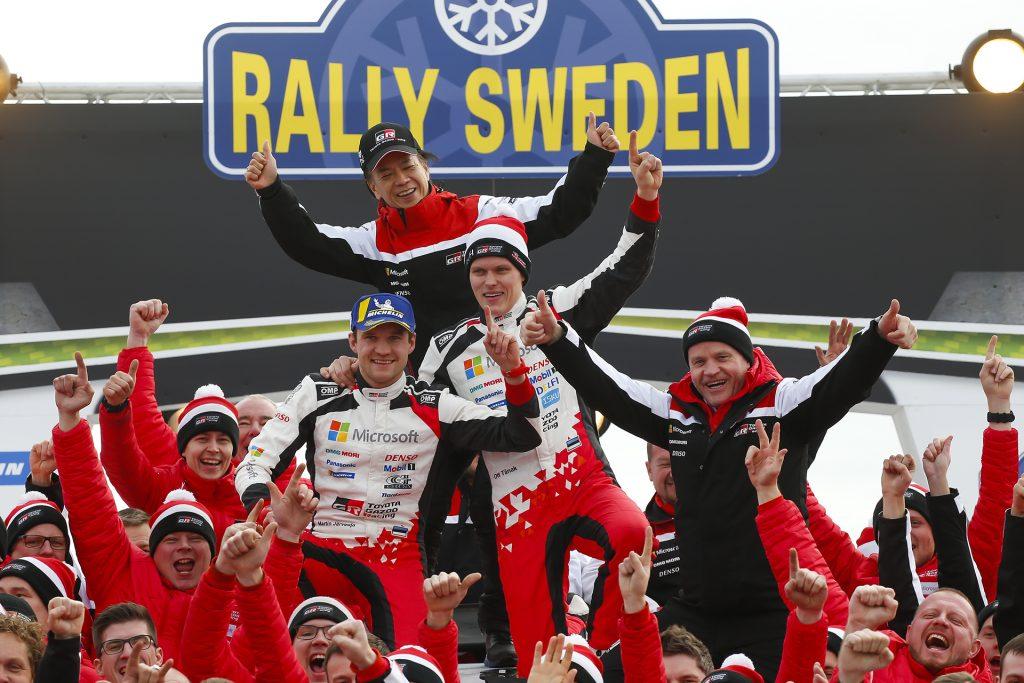 Tänak dominó Suecia