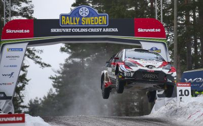 Ott Tänak dominó el Rally de Suecia en su Toyota Yaris WRC