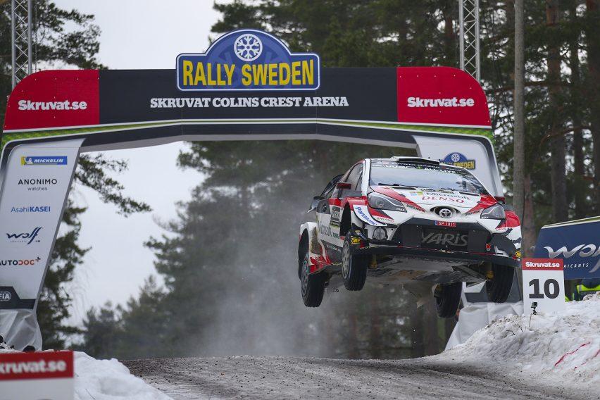 Ott Tänak dominó Suecia en el Toyota Yaris WRC