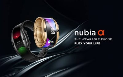 Nubia Alpha, el primer móvil brazalete