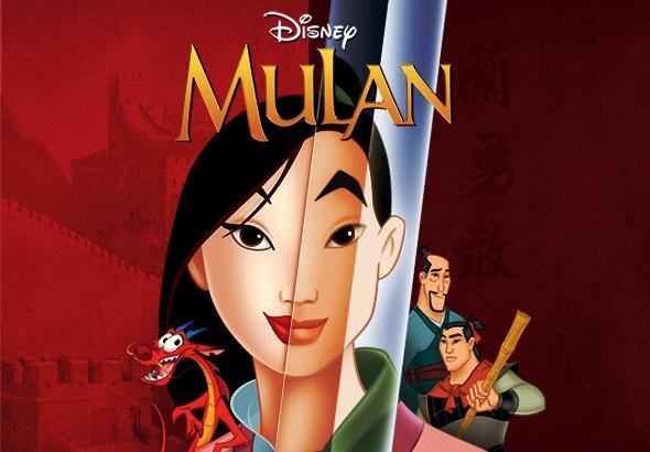 películas con mujeres empoderadas - Mulan