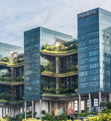 PARKROYAL on Pickering, el hotel más verde de Singapur