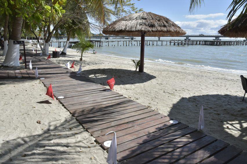 Estas son las playas inclusivas de Campeche