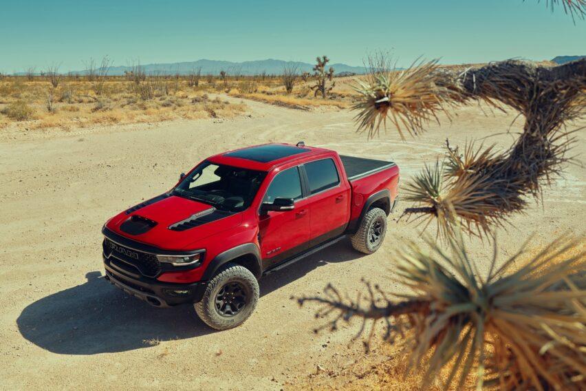 Ram TRX 1500 2021: la pickup más poderosa
