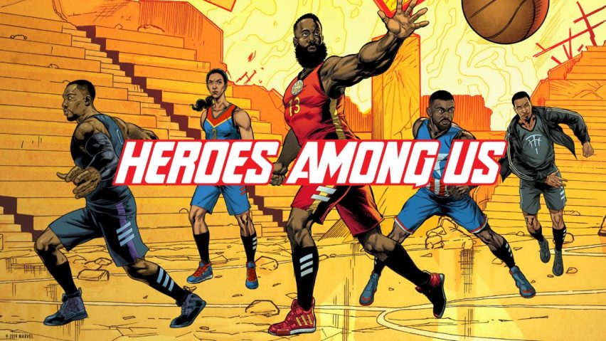 Heroes Among Us, calzado de súperhéroes