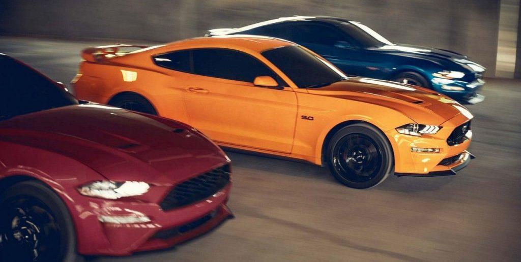 55 años de Mustang