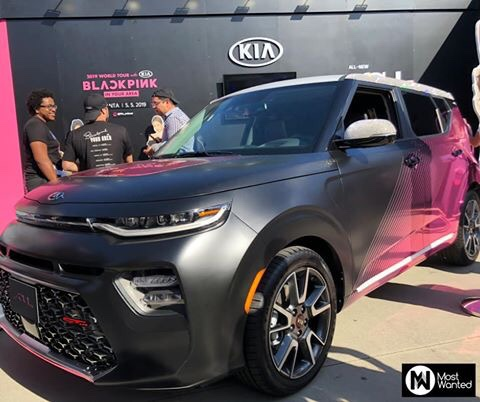 Kia Soul BlackPink Edition