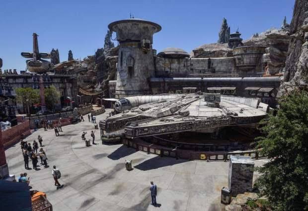 Así es el parque temático de Star Wars en California