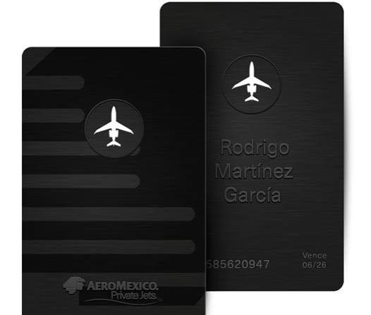 Aeromexico Jet Card