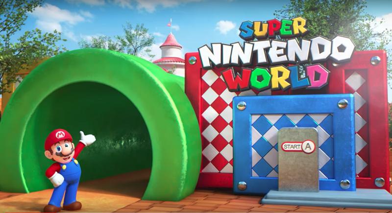 Así será el parque temático Super Nintendo World