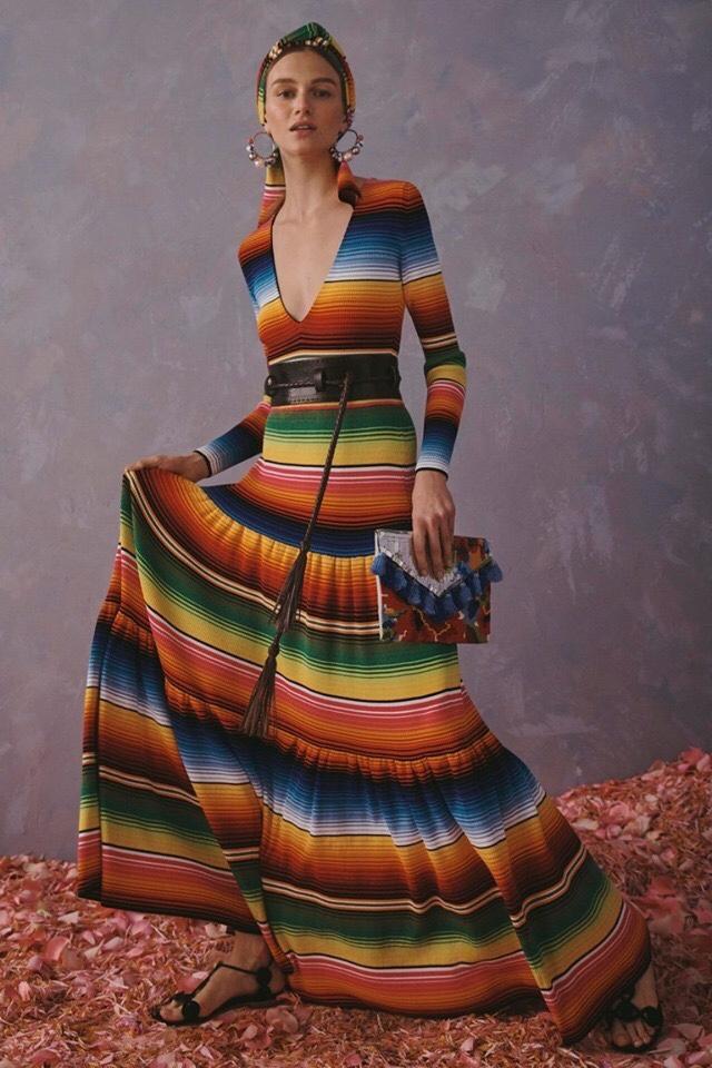 Carolina Herrera se inspira en México