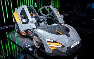 McLaren Senna de LEGO es real