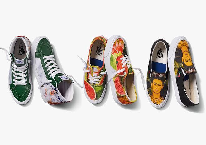 Vans de Frida Kahlo