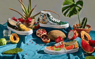 Vans de Frida Kahlo, arte mexicano para el mundo