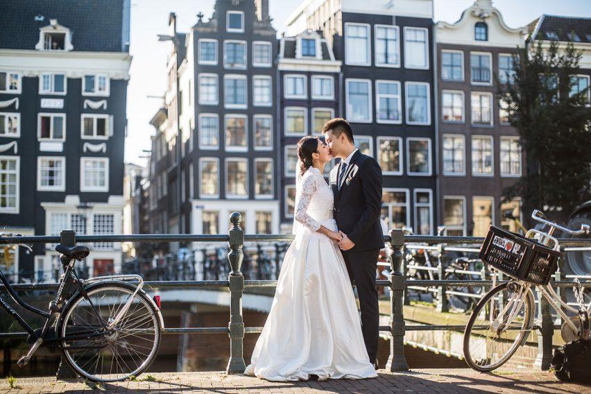 ¿Forever alone? Cásate por un día en Ámsterdam