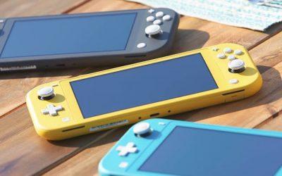 Así es la consola Nintendo Switch Lite
