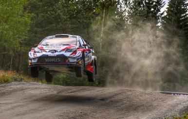 Toyota WRC dominó el Rally de Finlandia 2019