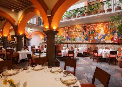 El Mural de los Poblanos, imperdible cocina poblana