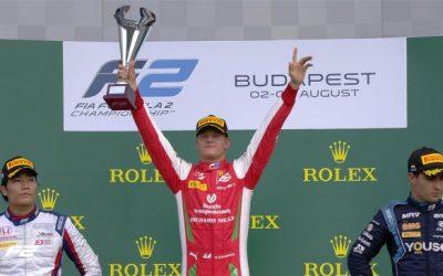 Mick Schumacher y su victoria en Formula 2