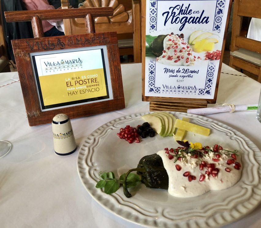 Experiencia: Restaurante Villa María