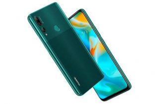 Huawei Y9 Prime cambiando las selfies