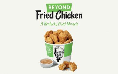 KFC presenta pollo frito vegano