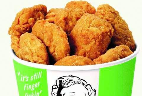 Pollo frito vegano