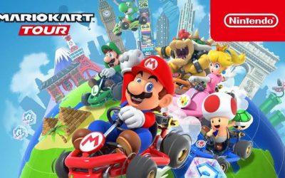 Mario Kart Tour listo para tu celular