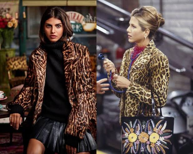 Ralph Lauren x Friends: el look de Rachel Green