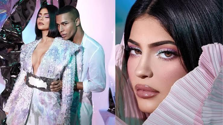 KYLIE X BALMAIN: El maquillaje se viste a la moda