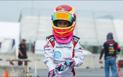 Ivanna Richards, con 11 años es la primera mexicana en Le Mans