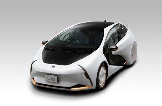 Toyota LQ Concept: El auto oficial de Tokyo 2020