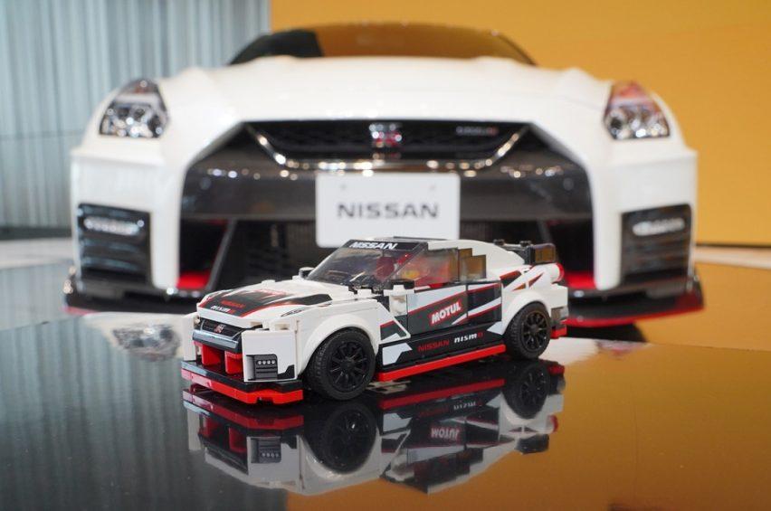 LEGO Nissan GT-R NISMO: un Godzilla de escritorio