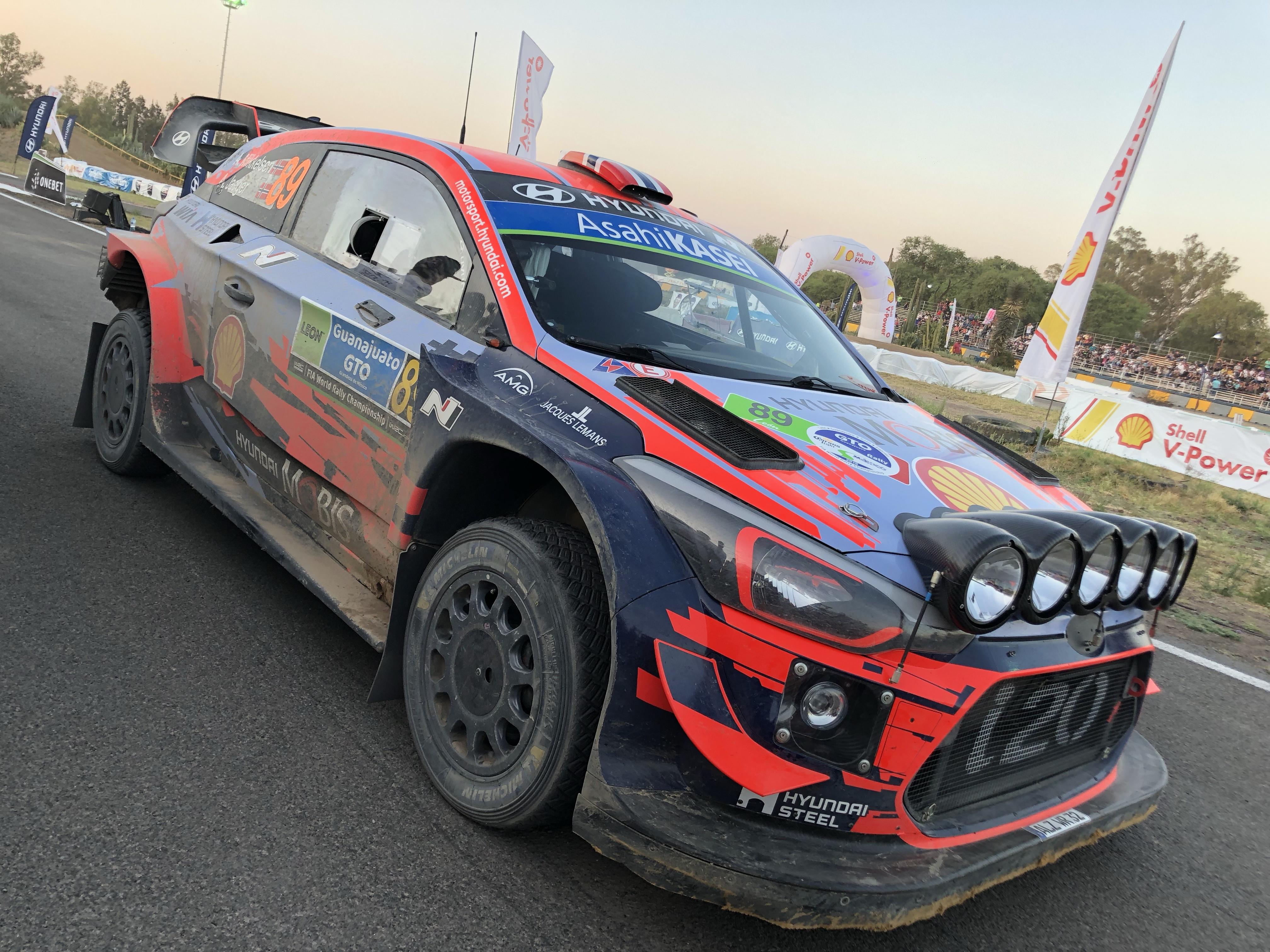 Hyundai es campeón del WRC