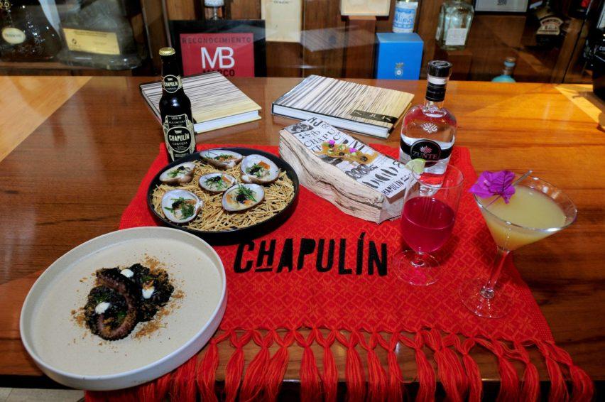 Chapulín y Pedro Evia de K'u'uk presentan menú