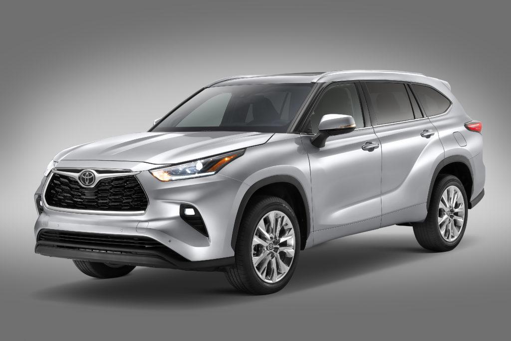 Toyota Highlander 2020 frente