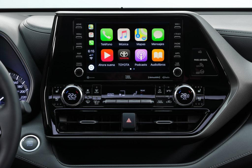 Toyota Highlander 2020 Pantalla