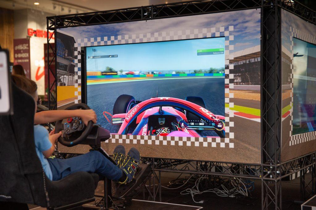 las carreras virtuales de Fórmula 1