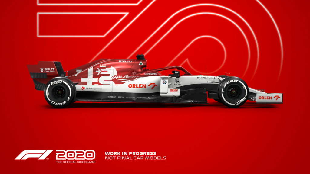 videojuego f1 2020