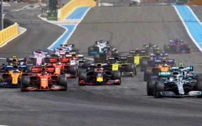 La Temporada 2020 de Fórmula 1 iniciaría en julio