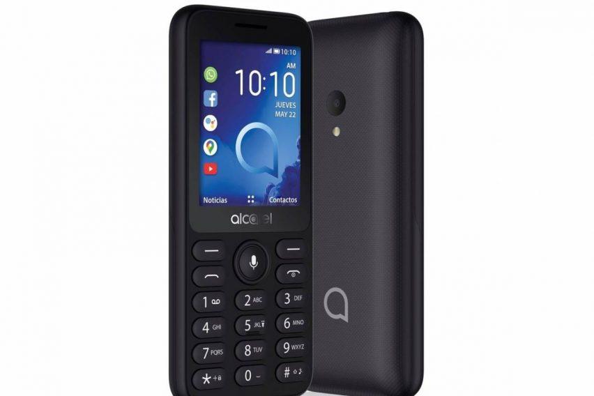 Alcatel 3078: el primer teléfono con KaiOS