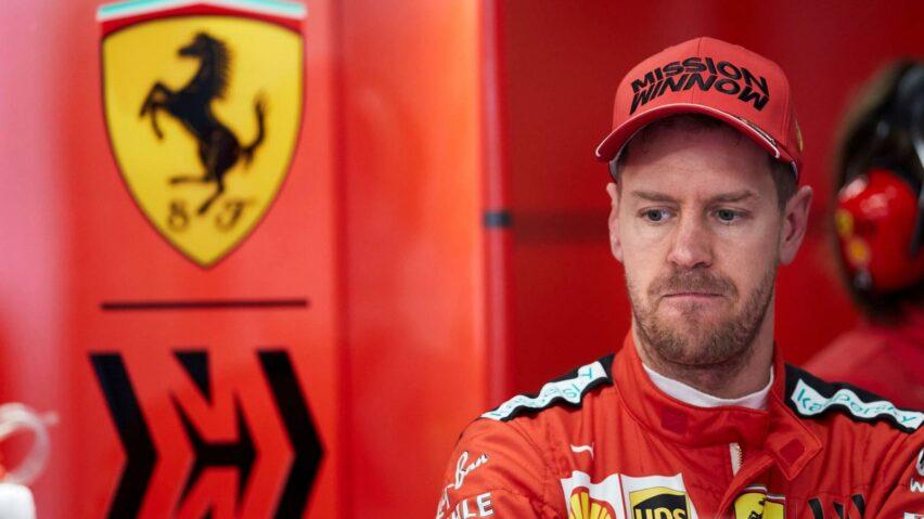 Sebastian Vettel se va de Ferrari