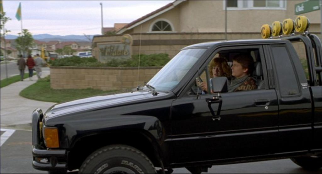 Autos Toyota de película / Back to the future