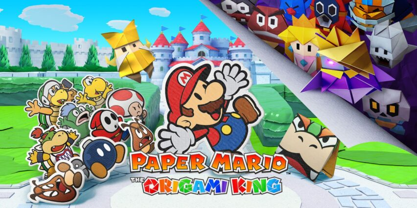 Paper Mario The Origami King llega en julio