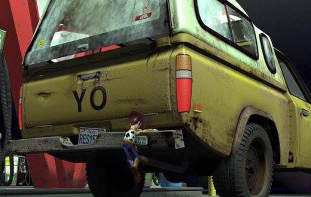 Autos Toyota de película Toy Story